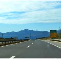 Góry Velebit widziane z drogi