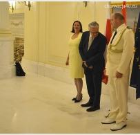 Pani Ambasador z małżonkiem