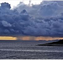 Burza na wyspie Hvar