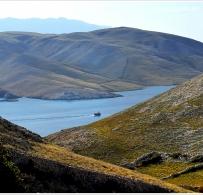Widok na wyspę Prvić