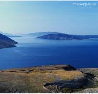 Widok na wyspę Rab