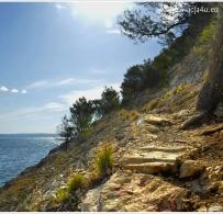 Droga na plażę Nugal