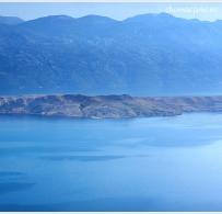 Góry za zatoką Slana