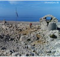 Ruiny kościółka sv. Vida