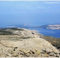 Widok na wyspę Pag